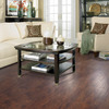 allen + roth 4.85-in W x 3.93-ft L Toasted Chestnut Handscraped Laminate Floor Wood Planks