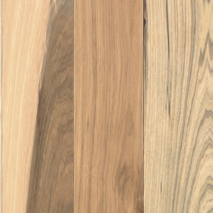 Shop allen roth w prefinished hickory hardwood for Hardwood flooring