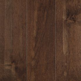 Pergo 0.75-in Maple Hardwood Flooring Sample (Truffle Maple)