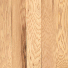 allen + roth 0.75-in Hickory Hardwood Flooring Sample (Country Natural Hickory)