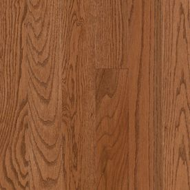 Pergo 0.75-in Oak Hardwood Flooring Sample (Gunstock)