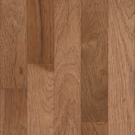 allen + roth 0.75-in Hickory Hardwood Flooring Sample (Toffee Hickory)