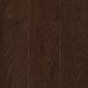 allen + roth 0.75-in Oak Hardwood Flooring Sample (Chocolate)