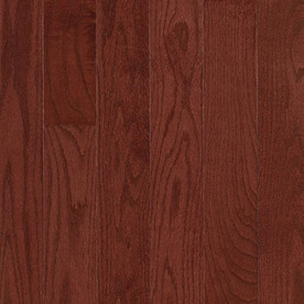 allen + roth 3.25-in W Prefinished Oak Hardwood Flooring (Cherry)