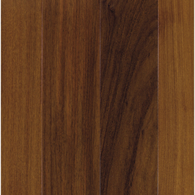 Shop mohawk brazilian walnut solid walnut hardwood for Unfinished brazilian walnut flooring