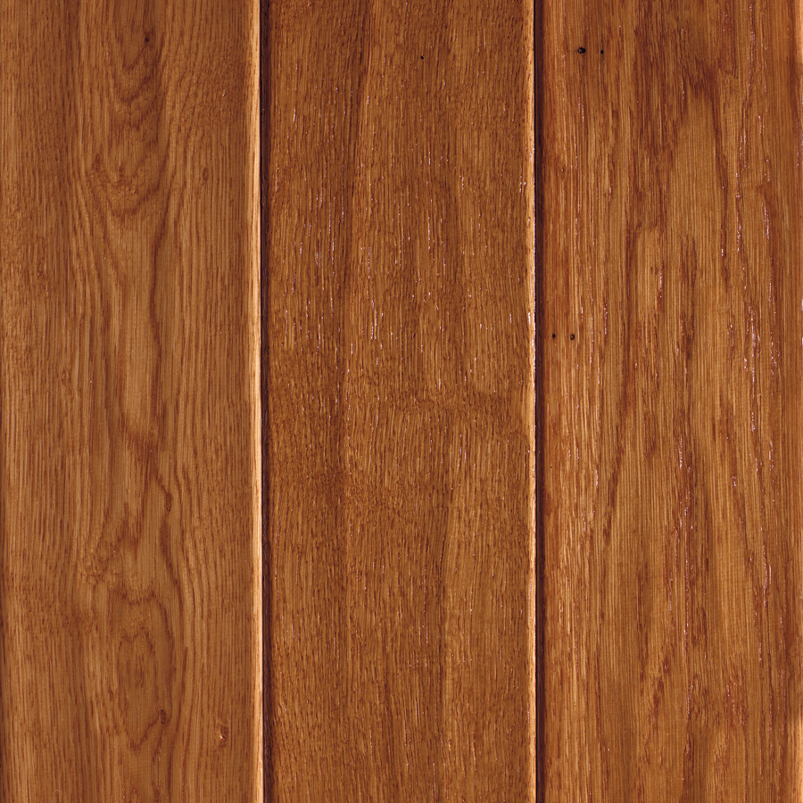 Shop mohawk pienza 5 in w prefinished oak engineered for Engineered oak flooring