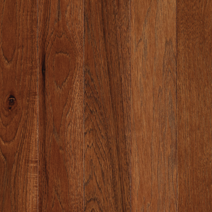 Shop mohawk anniston w prefinished hickory for Prefinished flooring