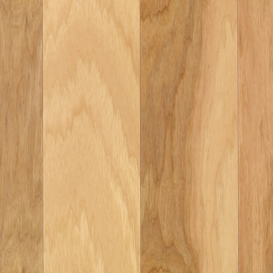 Shop mohawk eskridge 5 in w prefinished hickory engineered for Prefinished flooring