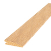 Mohawk 1.56-in x 84-in Hickory Natural Darkwood Reducer Floor Moulding