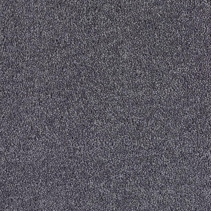 Shop Eco-Treasure Aspen Grey Textured Indoor Carpet at Lowes.com