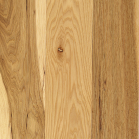 Mohawk 5-in W x 84-in L Hickory 3/4-in Solid Hardwood Flooring