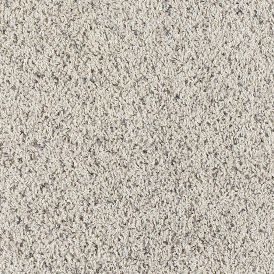 Shop SmartStrand Hawkins Island Sand Frieze Indoor Carpet ...