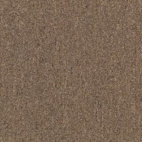Mohawk 18-Pack 24-in x 24-in Toast Commercial Loop Carpet Tile