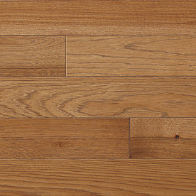 roth 3 25 in w prefinished hickory hardwood flooring saddle allen roth ...