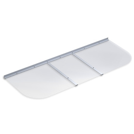 Ultra Protect 58-in x 21-in Clear Polycarbonate Elongated Ultra Protect Window Well Cover