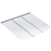 Ultra Protect 45-in x 42-in Clear Polycarbonate Rectangular Egress Basement Window Well Cover