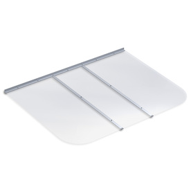 Ultra Protect 57-in x 42-in Clear Polycarbonate Rectangular Egress Basement Window Well Cover