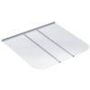 Ultra Protect 57-in x 50-in Clear Polycarbonate Rectangular Egress Basement Window Well Cover