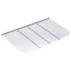 Ultra Protect 69-in x 42-in Clear Polycarbonate Rectangular Egress Basement Window Well Cover