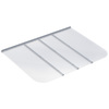 Ultra Protect 69-in x 50-in Clear Polycarbonate Rectangular Egress Basement Window Well Cover