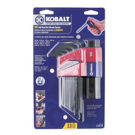 Kobalt 13-Piece Ball Hex Key Set