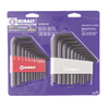 Kobalt 25-Piece Flat End Hex Key Set