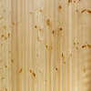 EverTrue 3.5625-in x 8-ft Edge and Center Bead Gold Pine Wood Wall Panel
