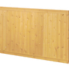 EverTrue 3.5625-in x 2.67-ft Edge and Center Bead Gold Pine Wood Wainscoting Wall Panel