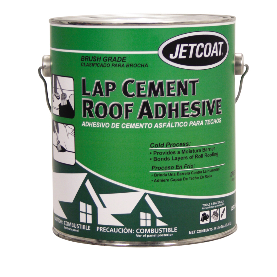 Shop Jetcoat Lap Cement Roof Adhesive At Lowes Com