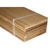 Natural Wood Grain Hemlock Untreated Wood Siding Panel (Common: 0.5-in x 6-in x 96-in; Actual: 0.5-in x 5.5-in x 96-in)