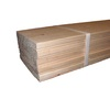 Natural Wood Grain Pine Untreated Wood Siding Panel (Common: 0.5-in x 6-in x 144-in; Actual: 0.5-in x 5.5-in x 144-in)