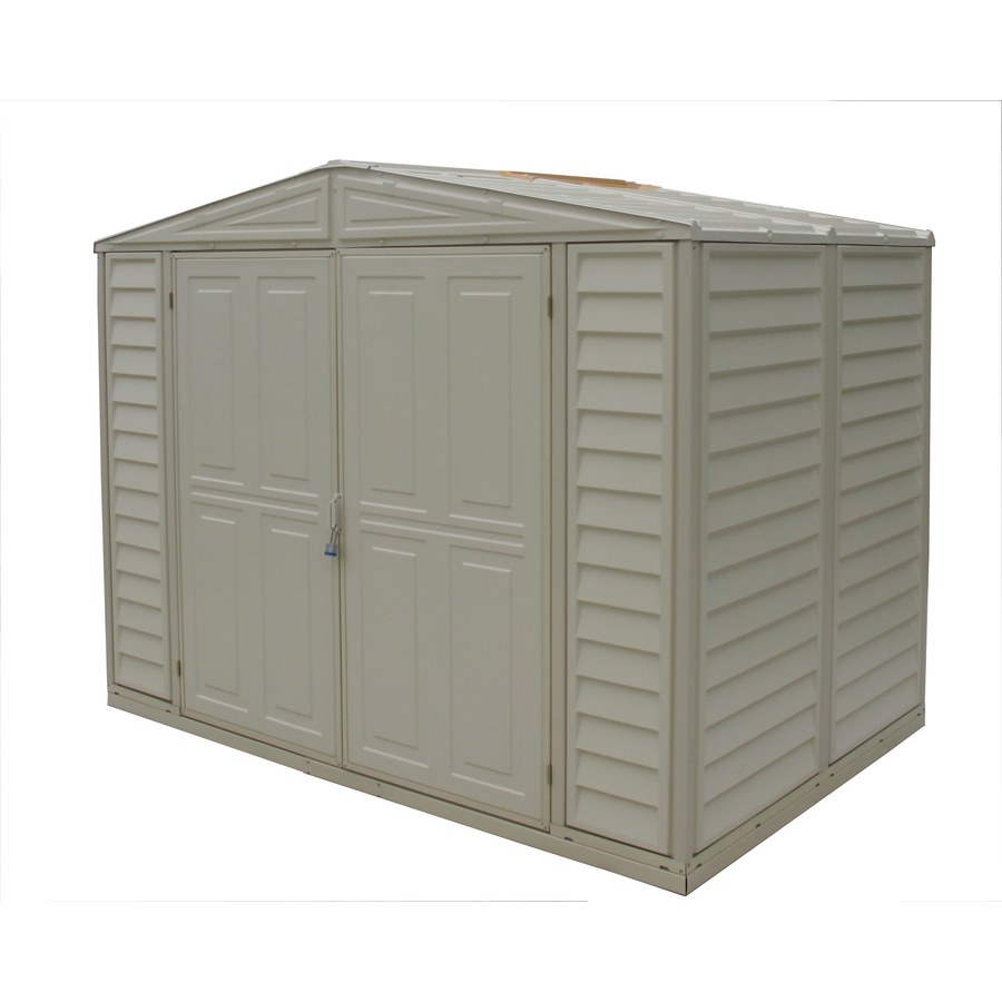 Shop DuraMax Building Products Storage Shed (Common: 8-ft x 6-ft