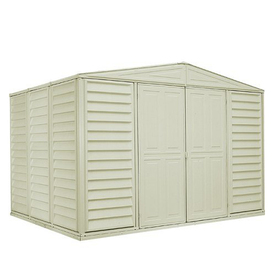 duramax pvc metal garden sheds from lowes sheds