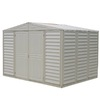 DuraMax Building Products Storage Shed (Common: 10-ft x 8-ft; Actual Interior Dimensions: 7.76-ft x 10.46-ft)