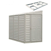 DuraMax Building Products Storage Shed (Common: 8-ft x 4-ft; Actual Interior Dimensions: 3.88-ft x 7.77-ft)