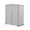 DuraMax Building Products Storage Shed (Common: 2-ft x 5-ft; Actual Interior Dimensions: 5.18-ft x 2.58-ft)