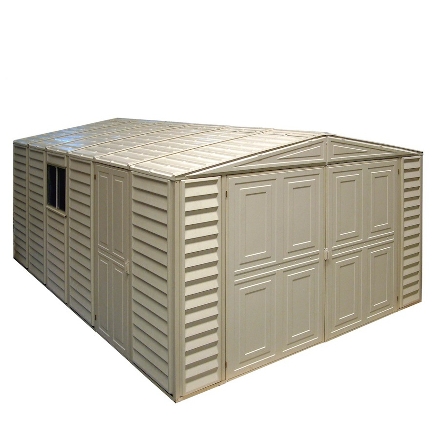 Shop DuraMax Building Products Storage Shed (Common: 10-ft x 18-ft