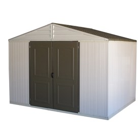 DuraMax Building Products Storage Shed (Common: 10-ft x 8-ft; Interior Dimensions: 10.3-ft x 7.7-ft)