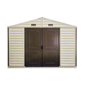 DuraMax Building Products Storage Shed (Common: 10-ft x 8-ft; Actual Interior Dimensions: 10.3-ft x 7.9-ft)