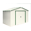 DuraMax Building Products Galvanized Steel Storage Shed (Common: 10-ft x 8-ft; Interior Dimensions: 9.4-ft x 6.8-ft)