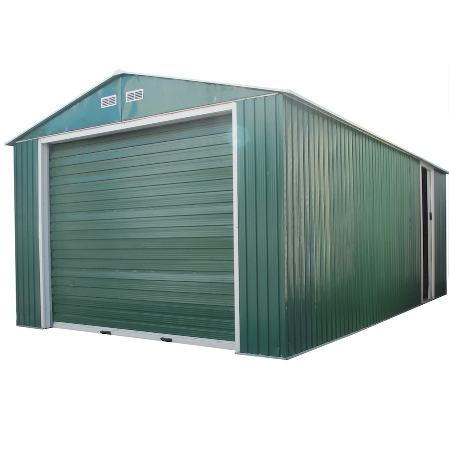 ... Products 12-ft x 20-ft Metal Single Car Garage Building at Lowes.com