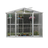 DuraMax Building Products 6-ft L x 8.5-ft W x 6.7-ft H Metal Greenhouse