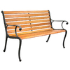 Garden Treasures 50.5-in L Patio Bench