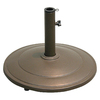 Garden Treasures Brown Cast Iron Umbrella Base