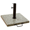 Garden Treasures Natural Granite Granite with Steel Post Umbrella Base