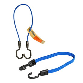 Blue Hawk 24-in Flat Strap Bungee Cord