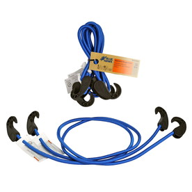 Blue Hawk 2-Pack 6-in to 48-in Adjustable Bungee Cords