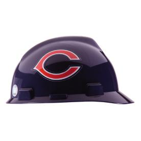 MSA Safety Works Standard Size Chicago Bears NFL Hard Hat