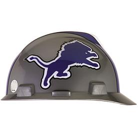 MSA Safety Works Standard Size Detroit Lions NFL Hard Hat