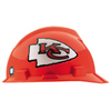 MSA Safety Works Standard Size Kansas City Chiefs NFL Hard Hat